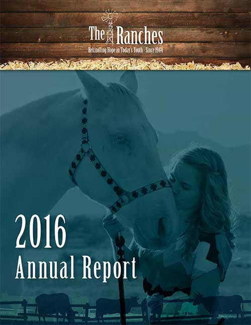 2016 Annual Report The Ranches