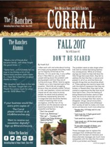 Fall Corral 2017