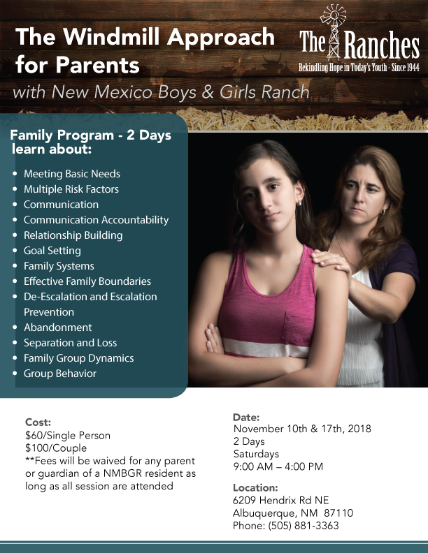 Family parenting classes Albuquerque