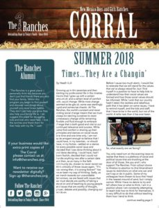 Summer Corral 2018