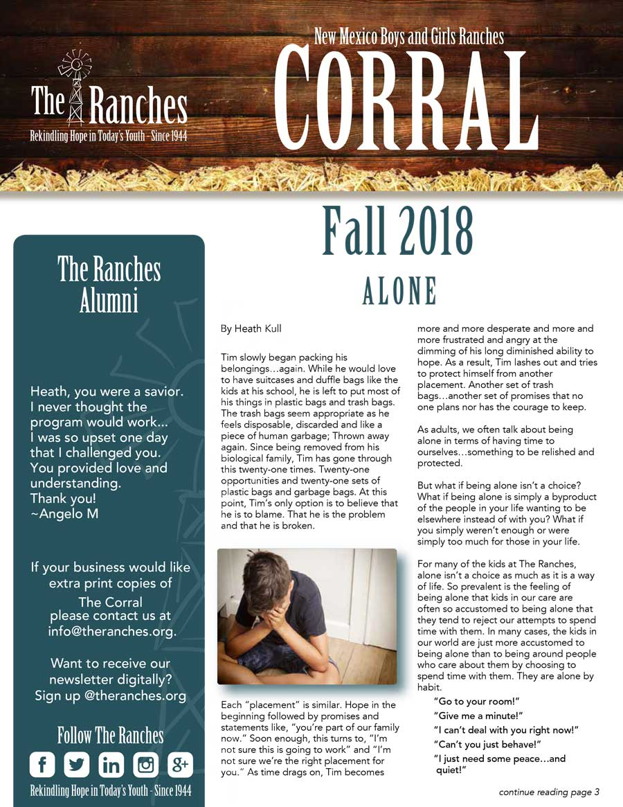 Fall Corral 2018 - The Ranches