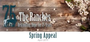 Spring Appeal 2019 The Ranches