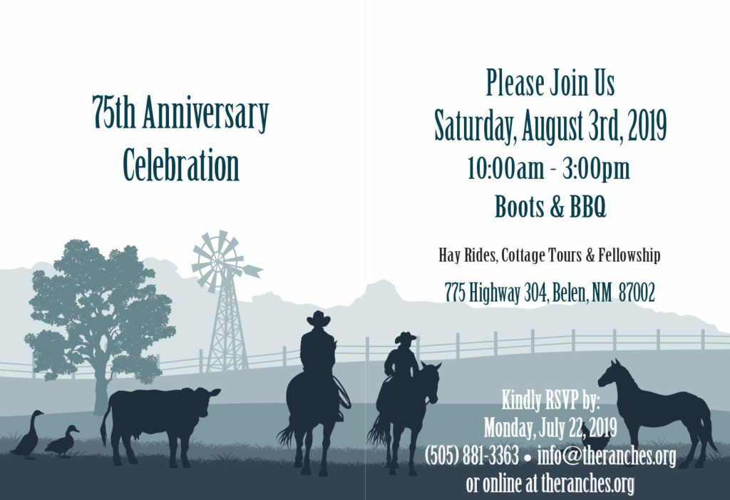 75th Anniversary The Ranches