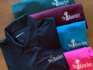Four T-Shirts & a Polo for a Resident