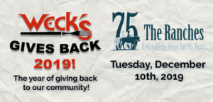 Weck's Gives Back