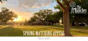 The Ranches - Spring Matching Appeal